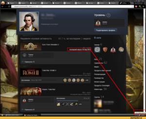 Steam поле со своей информацией красиво. Повышаем уровень профиля в Steam.