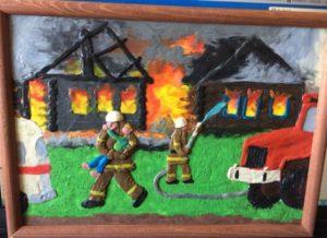 Поделка профессия пожарный. Лучшие поделки на тему мчс ко дню мчс