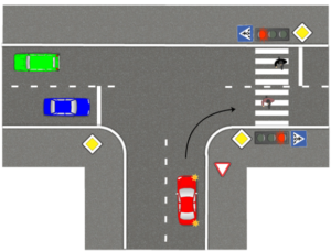 Как правильно проезжать т образный перекресток. Правила проезда нерегулируемых т образных перекрестков
