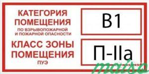 Знак категории на двери склада. Знак обозначения категории по пожарной и взрывопожарной опасности - новгородский учебно-деловой центр