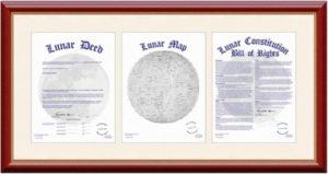 Скачать сертификат покупки земли на луне. Как купить участок на луне