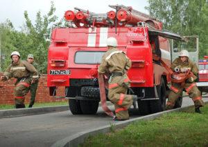 Боевой расчет пожарной охраны. Боевой расчет: Министерство обороны Российской Федерации