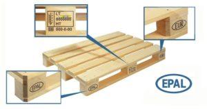 Стандарты поддонов. Поддоны ISPM15 (для экспорта)