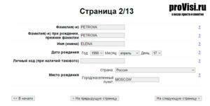 Заявление на визу в эстонию образец. Требования к заполнению анкеты для визы в Эстонию