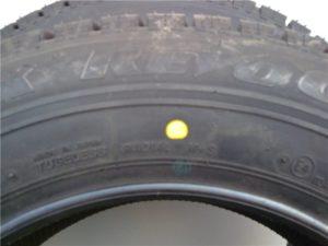 Жёлтая точка на шине что обозначает. Расшифровка цветных меток на шинах