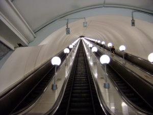 Самый большой эскалатор. Самый длинный в мире эскалатор метро
