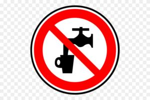 Знак предупреждающий что нельзя пить грязную воду. Знаки безопасности на воде, навигационные и портовые обозначения