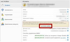 Какой скан паспорта нужен для вебмани. Загрузка копии паспорта в Webmoney