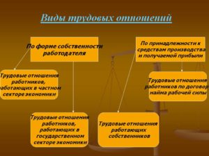 Форма трудовых отношений бывают. Трудовые отношения: понятие, виды и признаки возникновения
